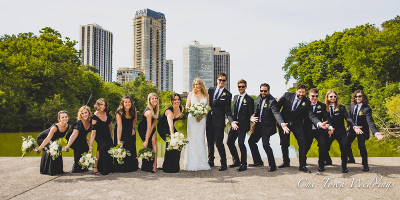 www.Chi-Town-Weddings.com  Bridal Party Lincoln Park Chicago