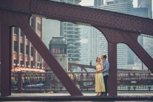 Chi-Town Weddings Engagement Session Lasalle St. Bridge, 2018